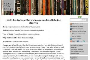 «I read odd books» om Manifestet