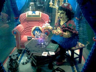 Lego og regnsang