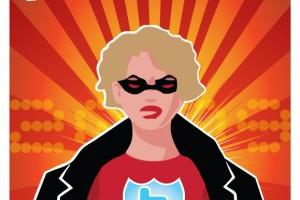 Premie til Superheltinnen i sosiale medier 2009 @orjas