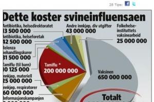 1.1 milliarder for å hindre svineinfluensa