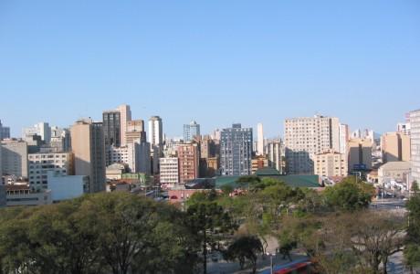 Curitiba city centre