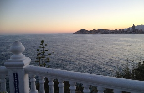 Sunset from Castell Benidorm