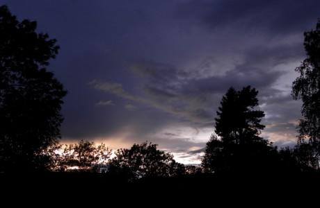 Thunderstorm over Ila Prison, 2012-08-24