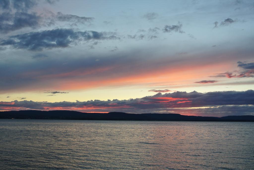 solnedgang ved oslofjorden 2239