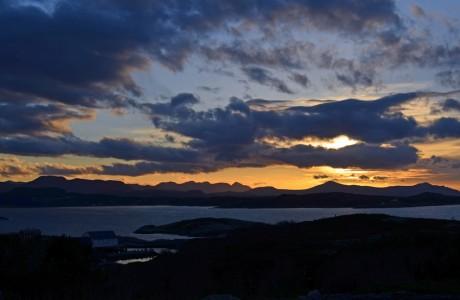 Sunset, Kristiansund