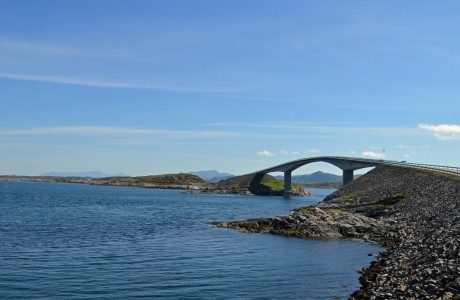 Atlantic road (Storseisund bridge)